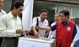 Trộm 'cuỗm' 25 triệu đồng tiền cứu trợ Philippines