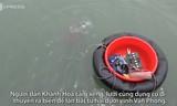 Lặn biển hàng giờ tìm tu hài dưới vịnh Vân Phong