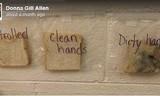Xem những hình ảnh này, bạn sẽ luôn nhớ rửa tay trước khi ăn