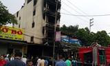 Trung úy CSGT kể phút sinh tử trèo tường cứu 5 người khỏi đám cháy