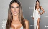 Thiên thần nội y Alessandra Ambrosio táo bạo với đầm cắt xẻ
