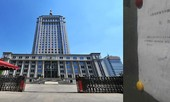An ninh thắt chặt tại phiên tòa xét xử ông Bạc Hy Lai