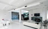 Không gian trắng hoàn hảo cho phòng khách - Phần II