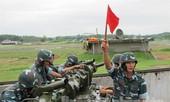 Trung đoàn pháo phòng không 228 thao diễn
