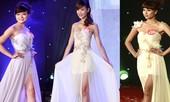 Ngắm dàn nữ sinh đẹp nhất Hà Nội diện váy xẻ tà gợi cảm