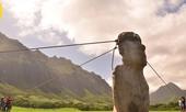 Xem tượng đá khổng lồ trên đảo Phục Sinh 'đi bộ'