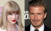 Taylor Swift và David Beckham bất ngờ 'liên quan'