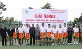 Sôi động giải tennis Transerco lần thứ III