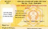 Quý 1-2013, cấp giấy phép lái xe mẫu mới trên cả nước