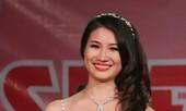 Hoa khôi ĐH Sân khấu Điện ảnh khóc trong giây phút đăng quang