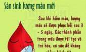 Hiến máu nhân đạo có lợi cho sức khỏe