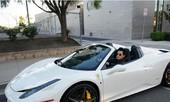 Lam Trường khoe siêu xe Ferrari 6 tỷ đồng