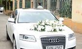 Đại sứ Audi, Hà Tăng dùng A6 đón dâu