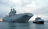 Pháp hạ thủy tàu đổ bộ trực thăng Mistral của Nga