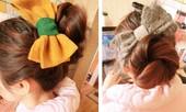 Khúc 'hòa tấu' của tóc tết và tóc búi