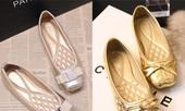 Giày ánh kim lấp lánh