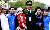Sắc lính trong Đại hội Đoàn toàn quốc