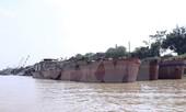 Bắt giữ 6 tàu hút cát quy mô lớn ở Quảng Ninh