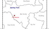 Quảng Nam xảy ra động đất 2.8 độ richter ở Bắc Trà My