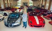 Choáng ngợp trước bộ sưu tập siêu xe của 'đại gia chăn đệm'