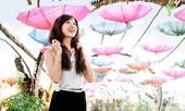 Hoa khôi Nữ sinh Việt Nam nói về 'người nổi tiếng'