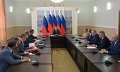 Tổng thống Putin tới Crimea, khẳng định quan hệ với Ukraine