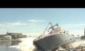 [VIDEO] Chiến hạm 300 triệu USD gia nhập Hải quân Mỹ