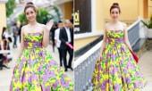 Hoa hậu Mỹ Linh cùng dàn sao đẹp rực rỡ đi xem thời trang