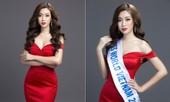 Mỹ Linh khoe đường cong quyến rũ sau khi dẫn đầu bình chọn tại Miss World