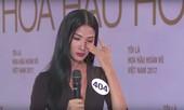 Bị Hoa hậu Phạm Hương chất vấn, Hoàng Thuỳ bật khóc nức nở