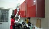 Bếp nhà bẩn và bừa bộn vì chồng tin thầy phong thủy