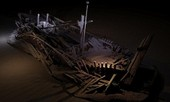 Phát hiện 60 xác tàu nguyên vẹn sau 2.000 năm chìm sâu dưới biển Đen