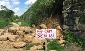 Tường Thành Nhà Hồ bị sạt lở