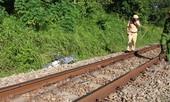 Một phụ nữ tử vong sau khi bị tàu hỏa kéo lê 50m