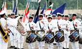 Ban nhạc hải quân Ấn Độ mang âm nhạc Bollywood tới Việt Nam