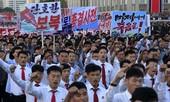 Hàng vạn người Triều Tiên xuống đường tuần hành chống Mỹ
