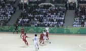 """Tuyển Futsal Việt Nam tạo """"mưa gôn"""" vào lưới Hong Kong"""