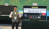 Quốc Nguyện đánh bại cơ thủ Hàn Quốc, giành HCV billiards