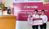 Trao thưởng giải nhất chương trình 'Mở tài khoản – Nhận quà lớn cùng Agribank'
