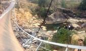 Cầu treo Chu Va sập do thi công không đúng thiết kế