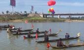 Độc đáo đua thuyền độc mộc trên sông Đăk Bla