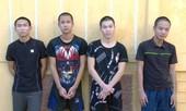 Nhóm thanh niên mang hung khí đến trụ sở công an để 'dằn mặt'