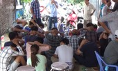 Nổ súng bắt trường gà truyền trực tiếp từ Campuchia để đánh bạc