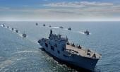 Tận thấy chiến hạm rầm rộ tới tập trận lớn nhất của NATO