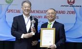Vietnam Airlines nhận giải cung cấp suất ăn xuất sắc nhất năm 2016
