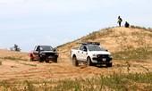120 tay đua xe địa hình tranh tài nghẹt thở trên đồi cát Ninh Thuận