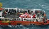 Tạm dừng trục vớt thân máy bay AirAsia