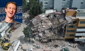 Facebook quyên 1 triệu USD cho nạn nhân động đất Mexico