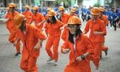 Xinh và chất như 'dân' công trình đồng diễn vũ đạo