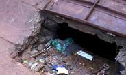 Nữ sinh Bình Phước bị nước mưa cuốn vào miệng cống mất tích